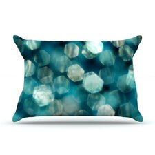 Shades of Blue Microfiber Fleece Pillow Case