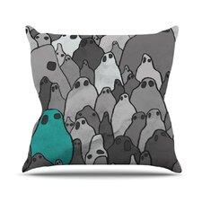 Ghosts by Jaidyn Erickson Throw Pillow