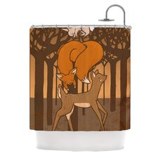 Friends Polyester Shower Curtain