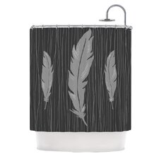 <strong>KESS InHouse</strong> Feathers Polyester Shower Curtain