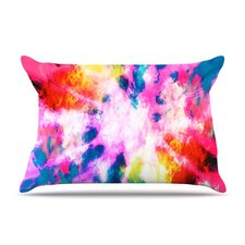 Technicolor Clouds Microfiber Fleece Pillow Case