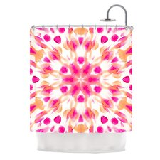 Batik Mandala Polyester Shower Curtain
