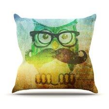 Howly by iRuz33 Throw Pillow