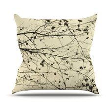 <strong>KESS InHouse</strong> Boughs Neutral Throw Pillow