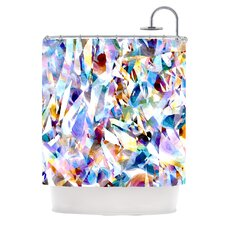 Buzz Polyester Shower Curtain