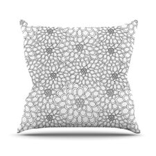 Flowers by Julia Grifol Throw Pillow