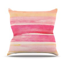 Coulour Play Throw Pillow