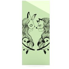 Foxy Buns by Jaidyn Erickson Graphic Art Plaque
