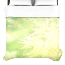 <strong>KESS InHouse</strong> Love You More Duvet Cover