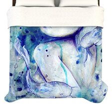 Koi Playing Duvet Cover