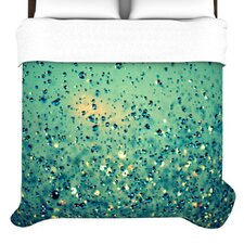 """""""Lullaby, Close Your Eyes"""" Woven Comforter Duvet Cover"""
