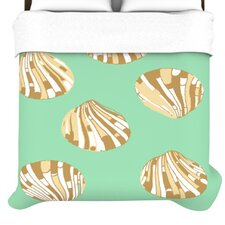 Scallop Shells Duvet Cover