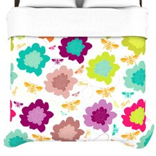 Bee Highway Duvet Cover