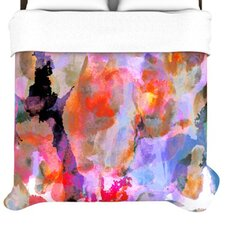 Painterly Blush Duvet Cover