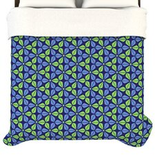 <strong>KESS InHouse</strong> Infinite Flowers Duvet Cover