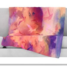 Souffle Sky Fleece Throw Blanket