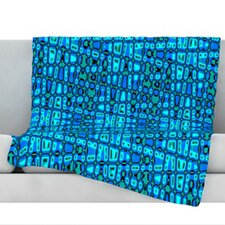<strong>KESS InHouse</strong> Variblue Fleece Throw Blanket