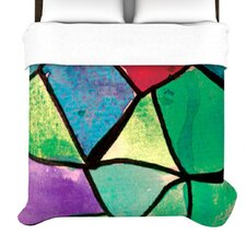 Stain Glass 1 Duvet Cover