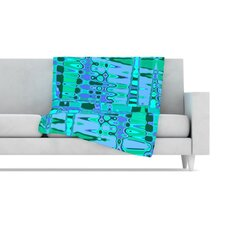 Changing Gears Fleece Throw Blanket