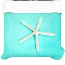 Starfish Fleece Duvet Cover