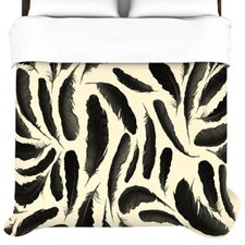 Feather Pattern Duvet Cover