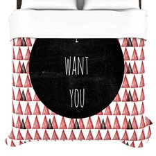 I Want You Duvet Cover