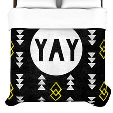 <strong>KESS InHouse</strong> Yay Duvet Cover