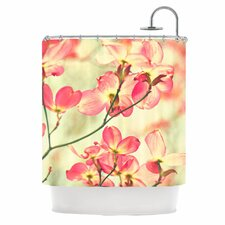 Morning Light Polyester Shower Curtain