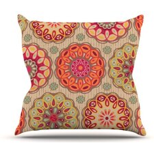 Festival Folklore Throw Pillow