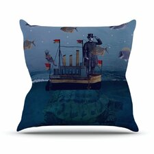 The Voyage by Suzanne Carter Throw Pillow