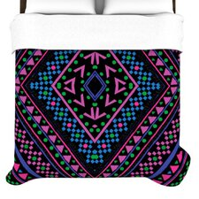 Neon Pattern Duvet Cover