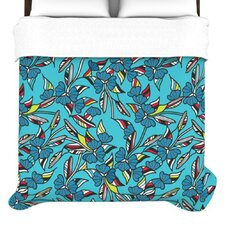 Paper Leaf Duvet Cover