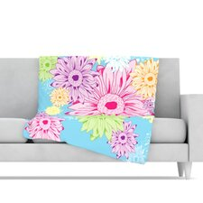 Summer Time Fleece Throw Blanket