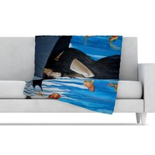 Sink or Swim Fleece Throw Blanket