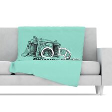 Picture Me Rollin Fleece Throw Blanket