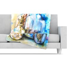 Bottled Animals Fleece Throw Blanket