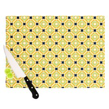 Tossing Pennies II Cutting Board