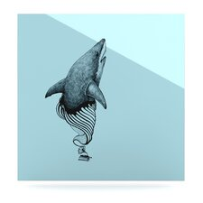 <strong>KESS InHouse</strong> Shark Record II Floating Art Panel