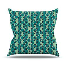 Bubbles Made of Paper Throw Pillow