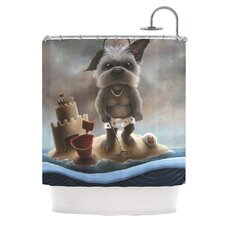 Grover Polyester Shower Curtain