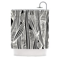 Graphique Polyester Shower Curtain