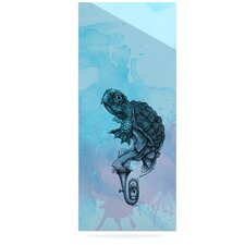 Turtle Tuba II by Graham Curran Graphic Art Plaque