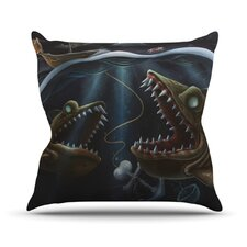 <strong>KESS InHouse</strong> Sink or Swim Throw Pillow