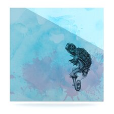 Turtle Tuba II by Graham Curran Graphic Art Plaque