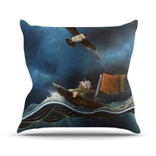 Savages Throw Pillow