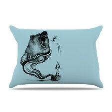 Hot Tub Hunter II Microfiber Fleece Pillow Case