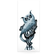 Owl by Graham Curran Graphic Art Plaque