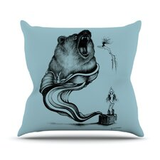 <strong>KESS InHouse</strong> Hot Tub Hunter II Throw Pillow