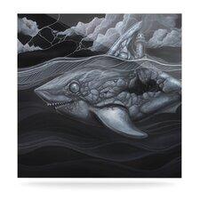 Troubled Joe by Graham Curran raphic Art Plaque