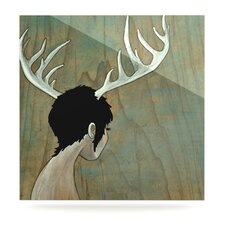 Antlers by Jaidyn Erickson Graphic Art Plaque